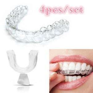 4pc. Silicone Night Teeth Mouth Guard NWOT